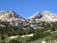 Liberty Pass Viewed from the Stock Trail